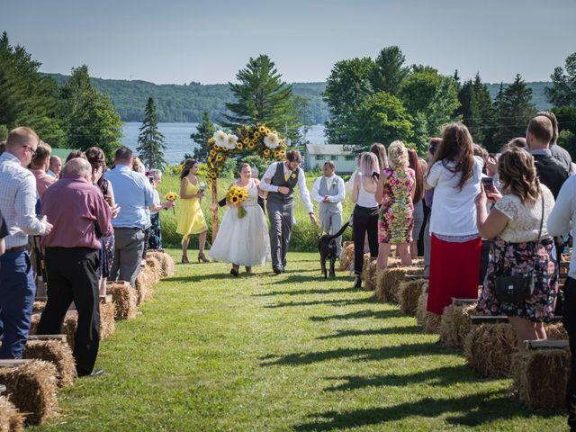 Jacob and Samantha's wedding in Huntsville, Ontario 36