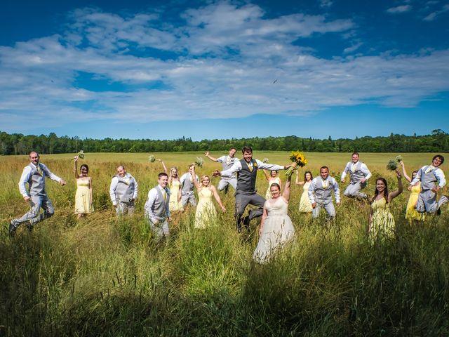 Jacob and Samantha's wedding in Huntsville, Ontario 1