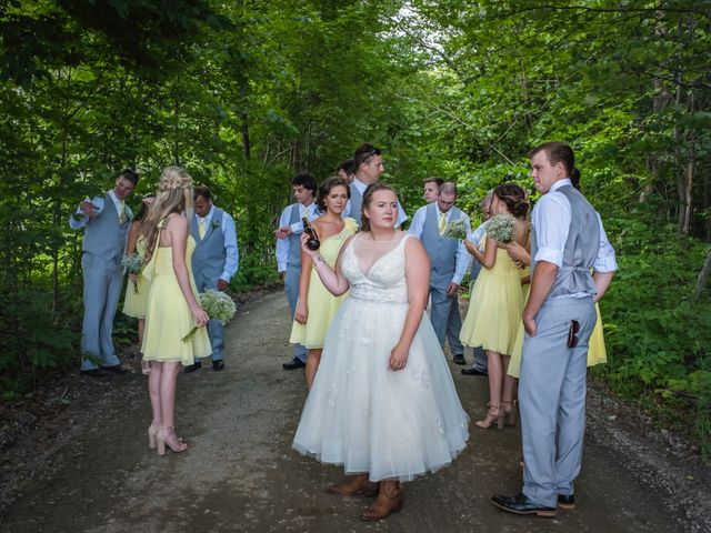 Jacob and Samantha's wedding in Huntsville, Ontario 40