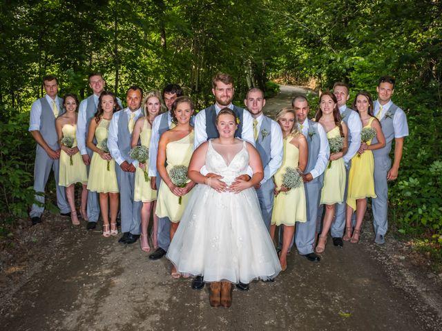 Jacob and Samantha's wedding in Huntsville, Ontario 41