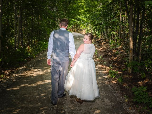 Jacob and Samantha's wedding in Huntsville, Ontario 42