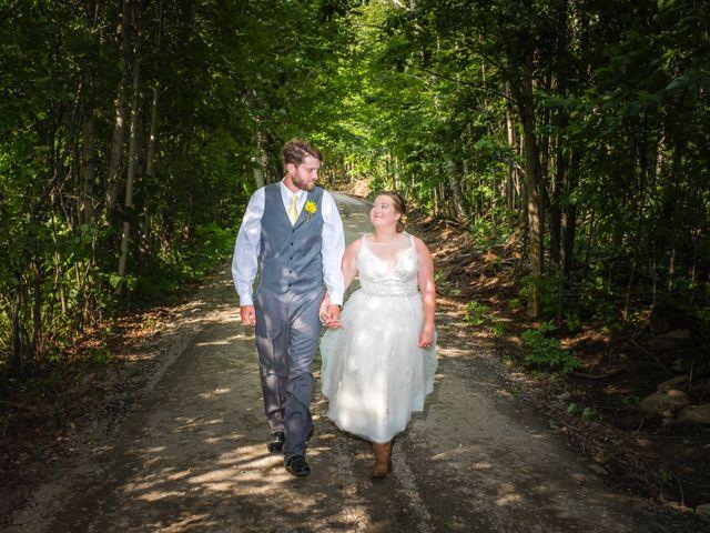 Jacob and Samantha's wedding in Huntsville, Ontario 43