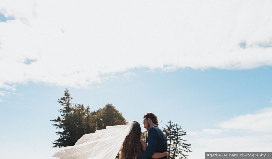 James and Tiffany's wedding in Tofino, British Columbia