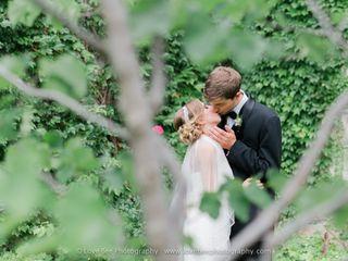 The wedding of Sarah and Brock