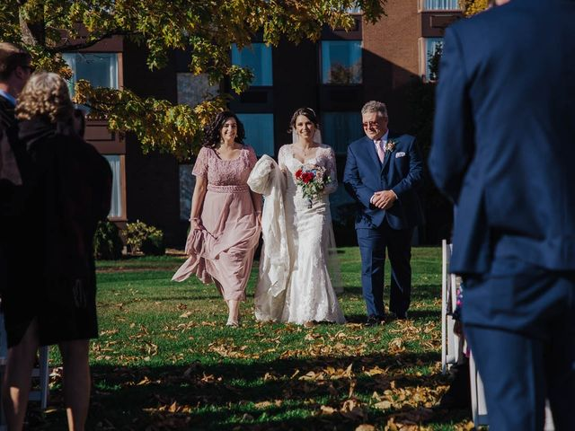Taylor and Samantha's wedding in Cornwall, Ontario 10