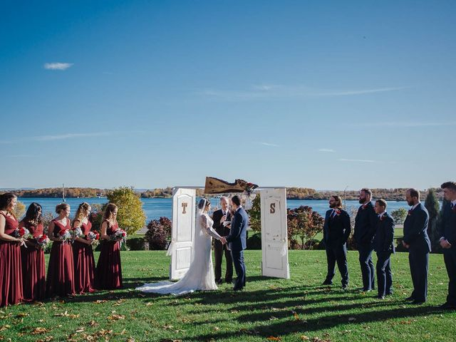 Taylor and Samantha's wedding in Cornwall, Ontario 1