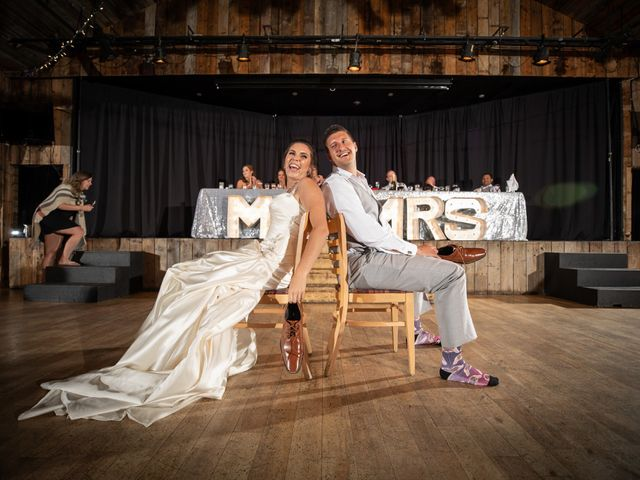 Garrett and Shelby's wedding in Canmore, Alberta 1