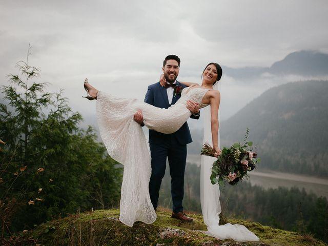 Catalina and Garrett's wedding in Hope, British Columbia 2