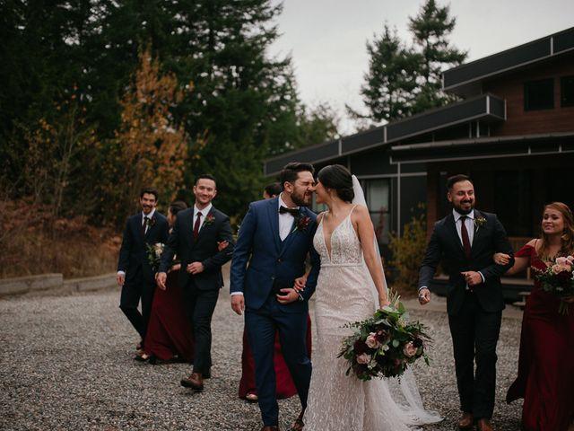 Catalina and Garrett's wedding in Hope, British Columbia 30