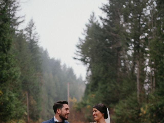 Catalina and Garrett's wedding in Hope, British Columbia 33