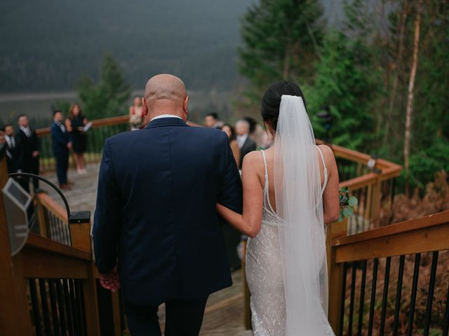 Catalina and Garrett's wedding in Hope, British Columbia 43