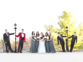 The wedding of Christina and Stephen 1