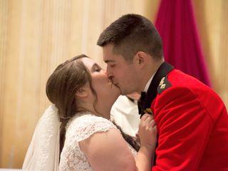 The wedding of Christina and Stephen