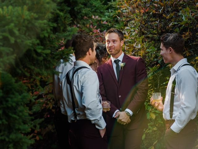 Clayton and Brittany's wedding in Nelson, British Columbia 8