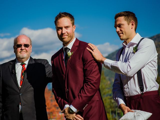 Clayton and Brittany's wedding in Nelson, British Columbia 12