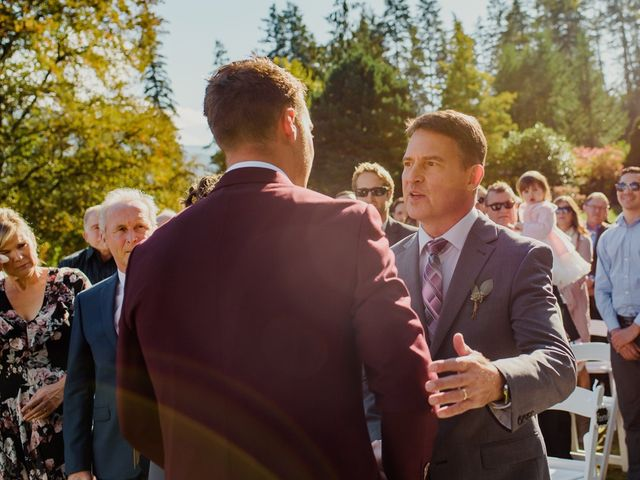 Clayton and Brittany's wedding in Nelson, British Columbia 13