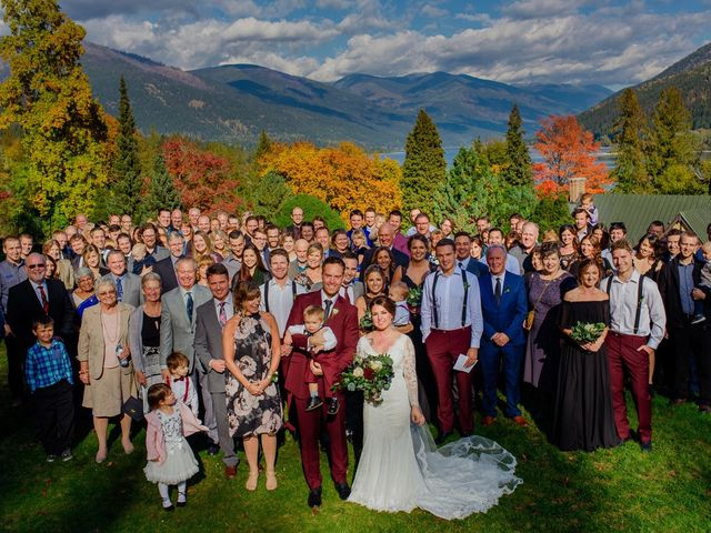 Clayton and Brittany's wedding in Nelson, British Columbia 18