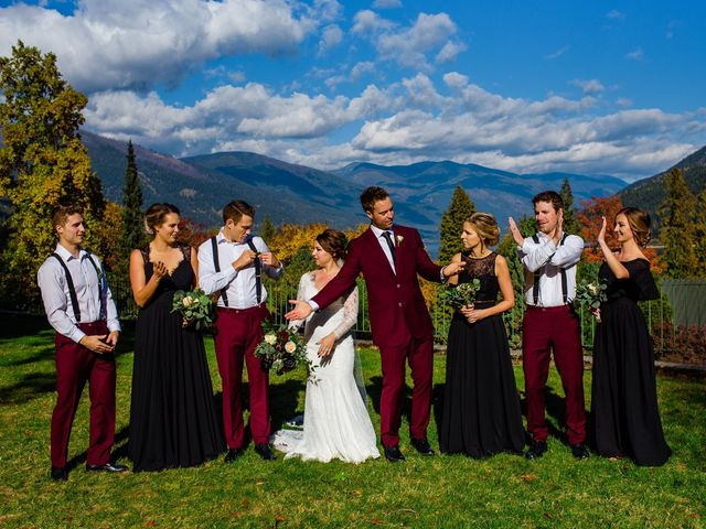 Clayton and Brittany's wedding in Nelson, British Columbia 19