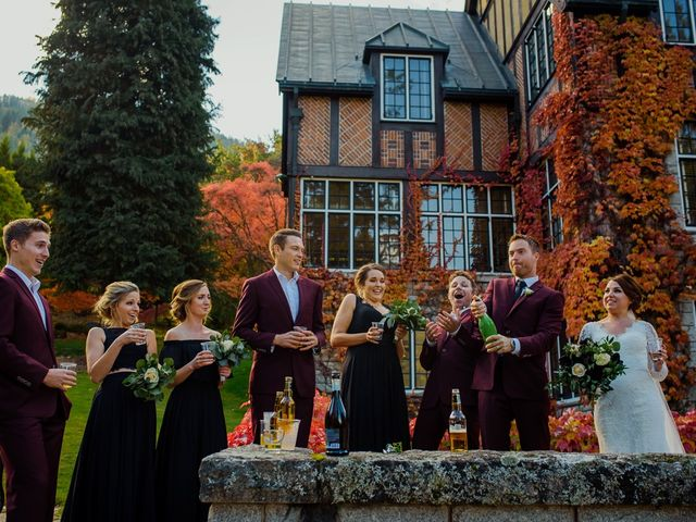 Clayton and Brittany's wedding in Nelson, British Columbia 21