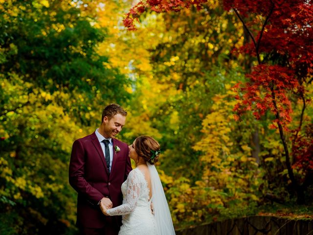 Clayton and Brittany's wedding in Nelson, British Columbia 1