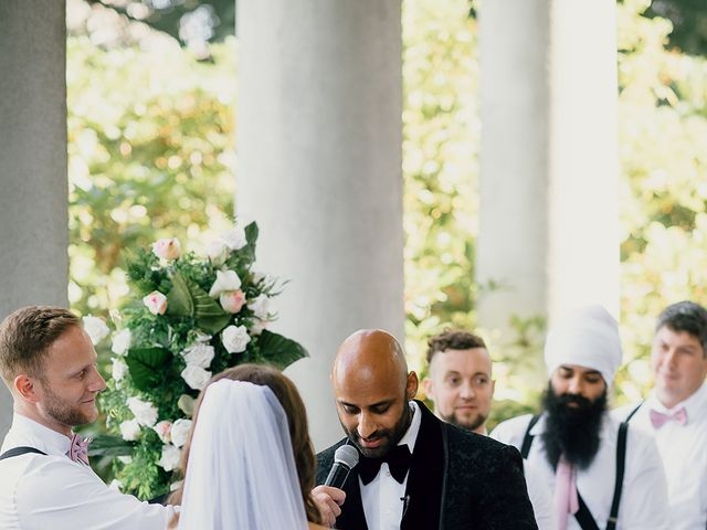 Mikayla and Ravi's wedding in Vancouver, British Columbia 74