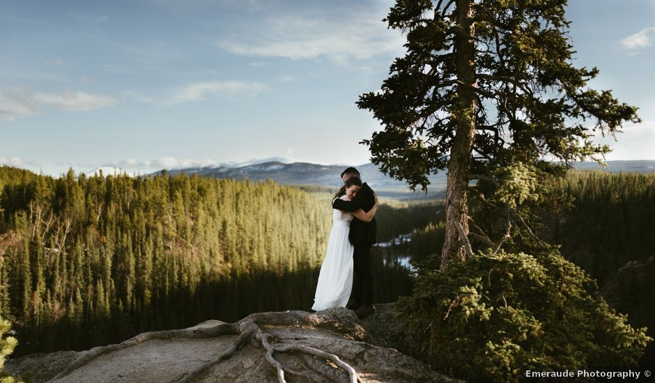 Kevin and Kathleen's wedding in Whitehorse, Yukon Territory