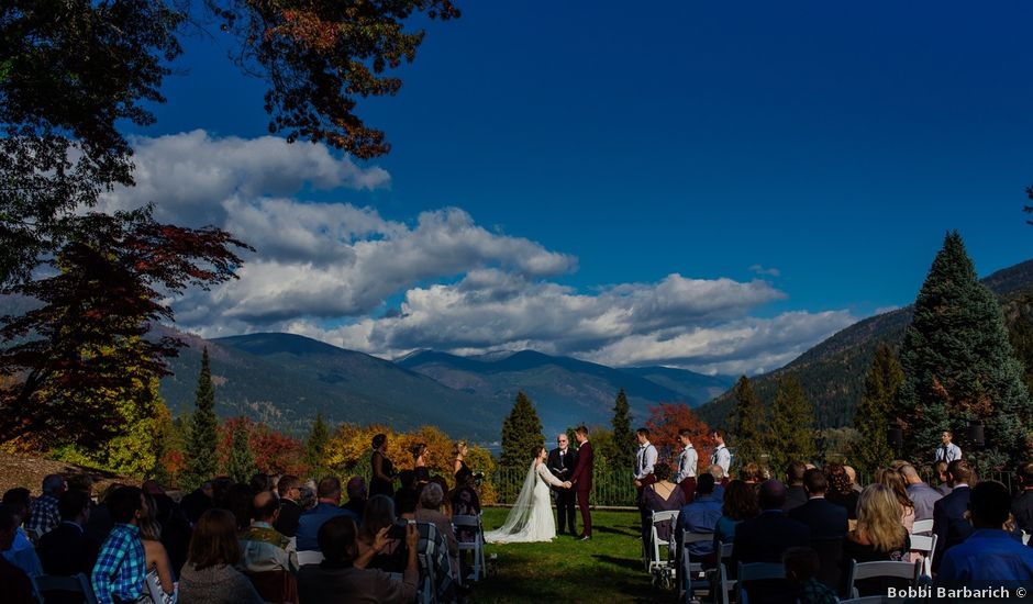 Clayton and Brittany's wedding in Nelson, British Columbia