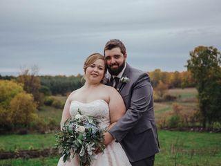 The wedding of Mandie and Brandon