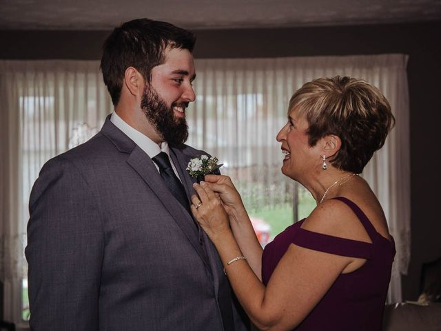 Brandon and Mandie's wedding in Williamstown, Ontario 4