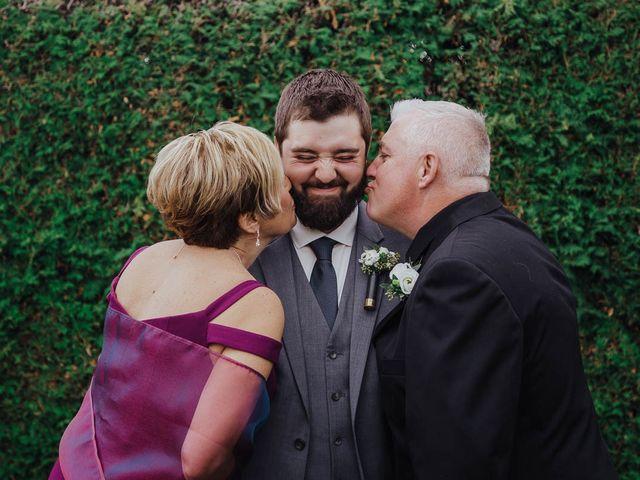 Brandon and Mandie's wedding in Williamstown, Ontario 5