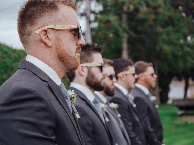 Brandon and Mandie's wedding in Williamstown, Ontario 6