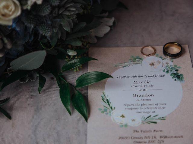 Brandon and Mandie's wedding in Williamstown, Ontario 8