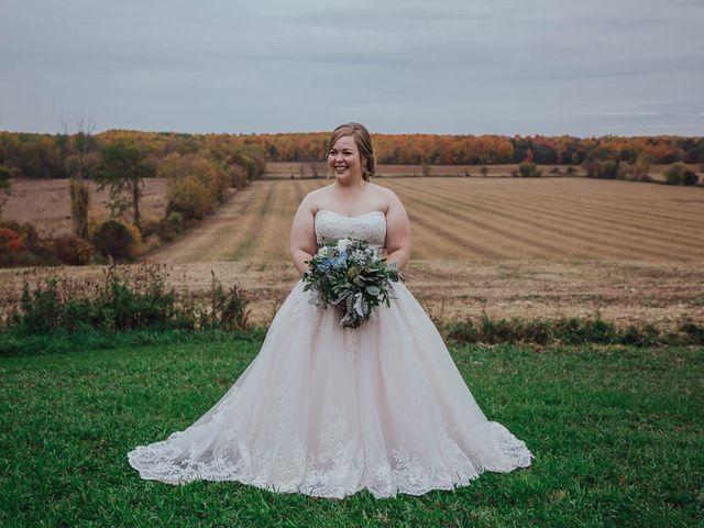 Brandon and Mandie's wedding in Williamstown, Ontario 12