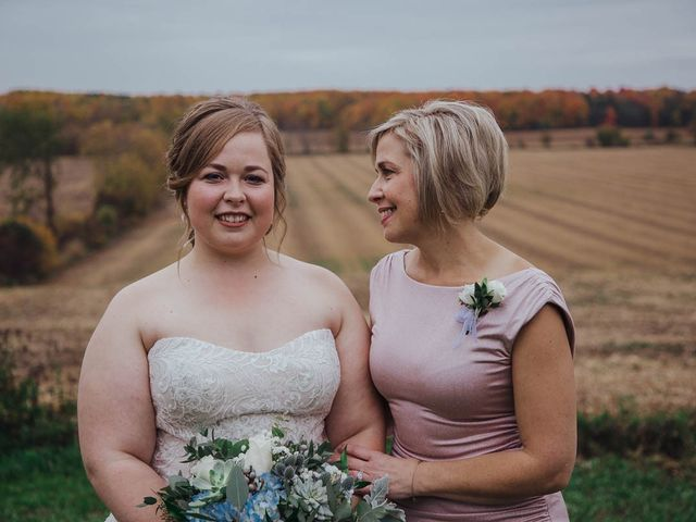 Brandon and Mandie's wedding in Williamstown, Ontario 13