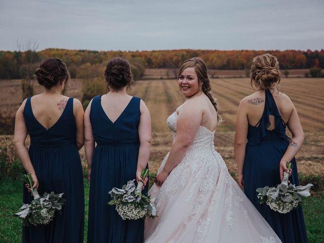 Brandon and Mandie's wedding in Williamstown, Ontario 14