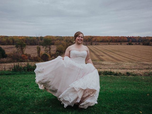 Brandon and Mandie's wedding in Williamstown, Ontario 18