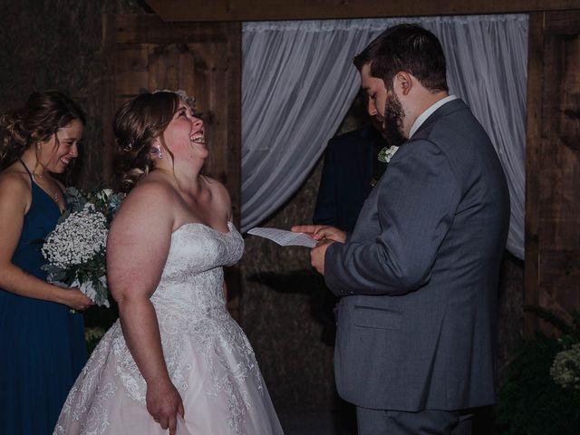 Brandon and Mandie's wedding in Williamstown, Ontario 27