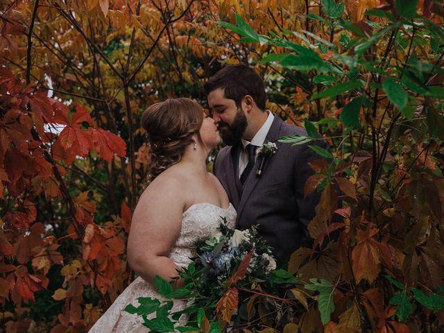Brandon and Mandie's wedding in Williamstown, Ontario 1