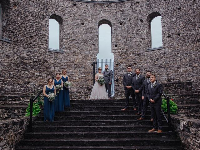 Brandon and Mandie's wedding in Williamstown, Ontario 2