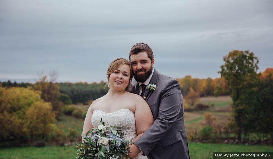 Brandon and Mandie's wedding in Williamstown, Ontario
