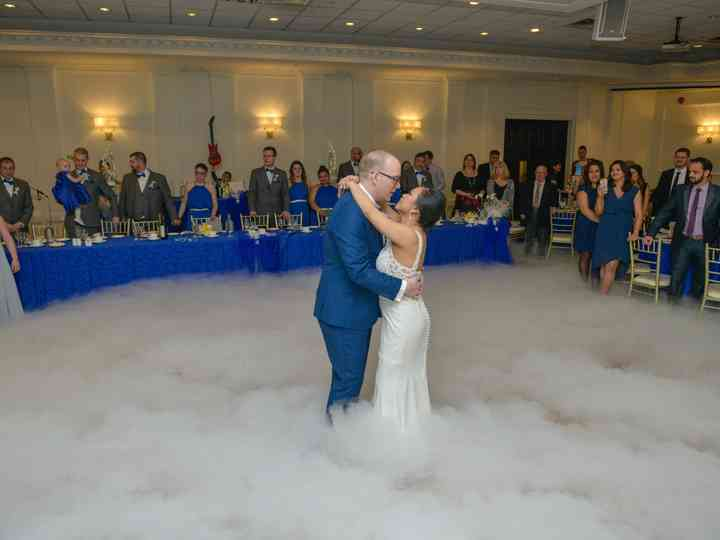 The wedding of Reia and Travis