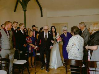 The wedding of Rachel and Mark 3