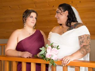 The wedding of Julie and Stephanie 2