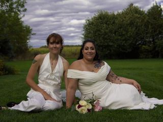 The wedding of Julie and Stephanie