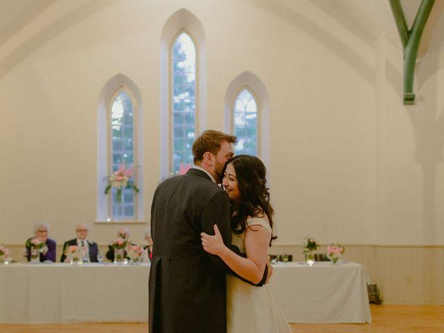 The wedding of Rachel and Mark