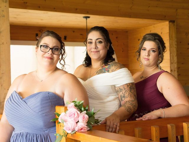 Stephanie and Julie's wedding in Winchester, Ontario 1