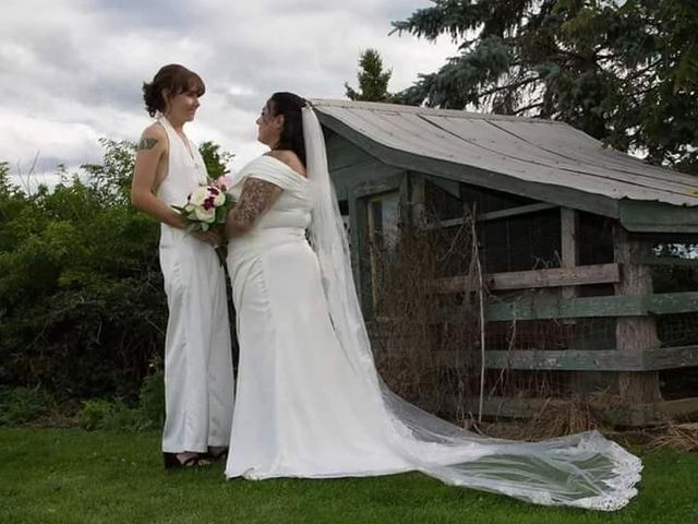 Stephanie and Julie's wedding in Winchester, Ontario 10