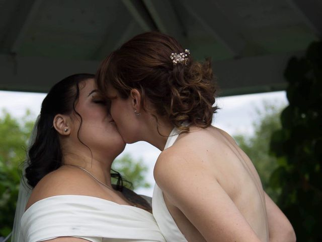 Stephanie and Julie's wedding in Winchester, Ontario 11