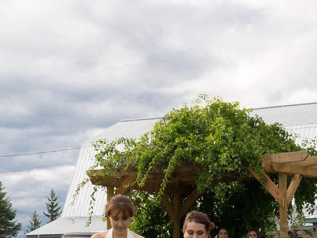 Stephanie and Julie's wedding in Winchester, Ontario 14