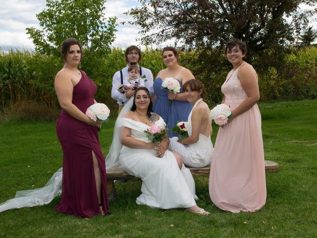Stephanie and Julie's wedding in Winchester, Ontario 15